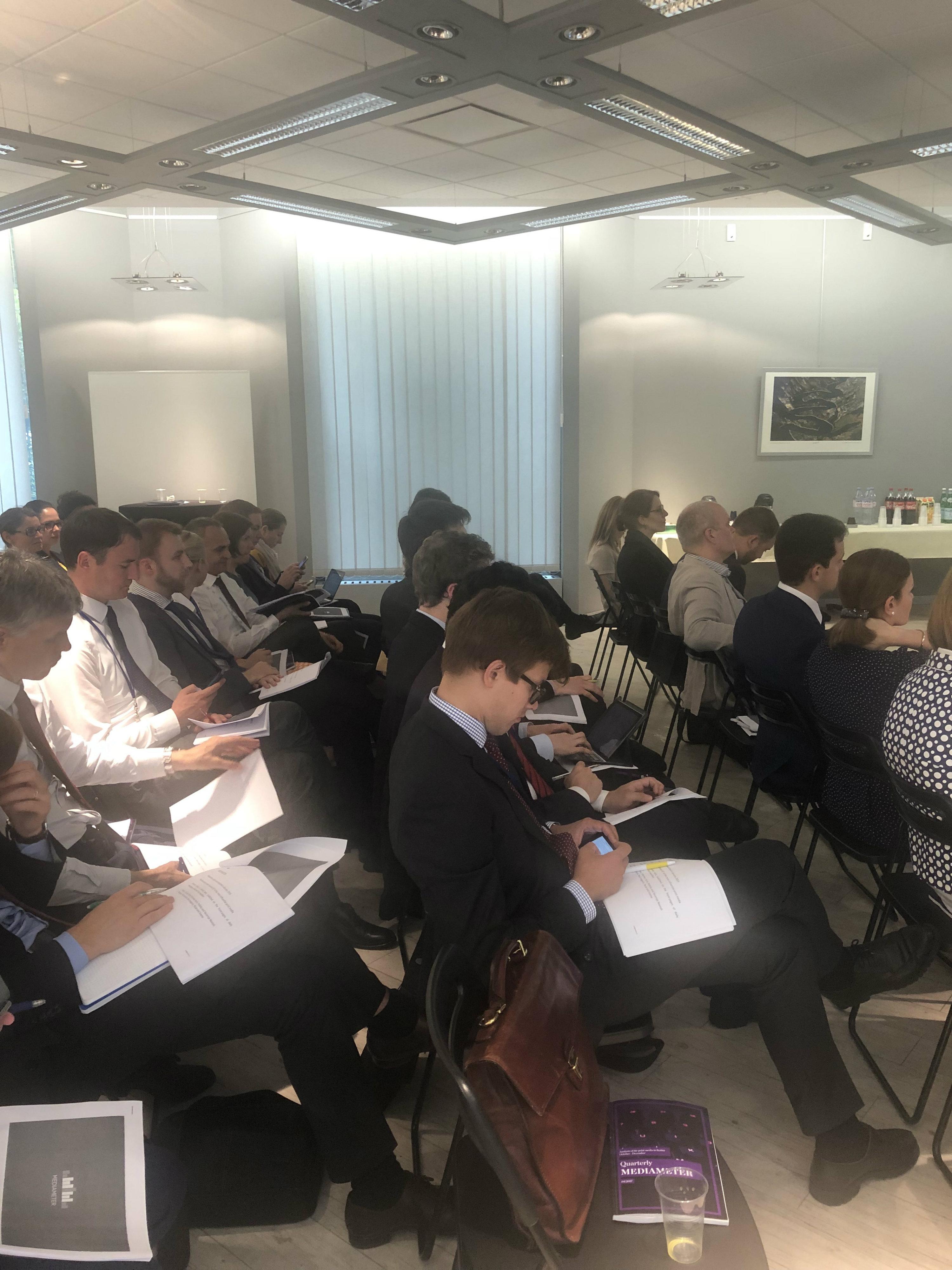 U publici je bilo tridesetak diplomata iz EU koji se bave Zapadnim Balkanom